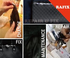 鞄修理・バック修理・サイフ修理のRAFIX